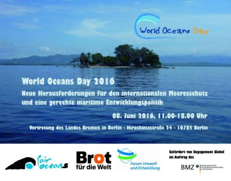 World Oceans Day 2016