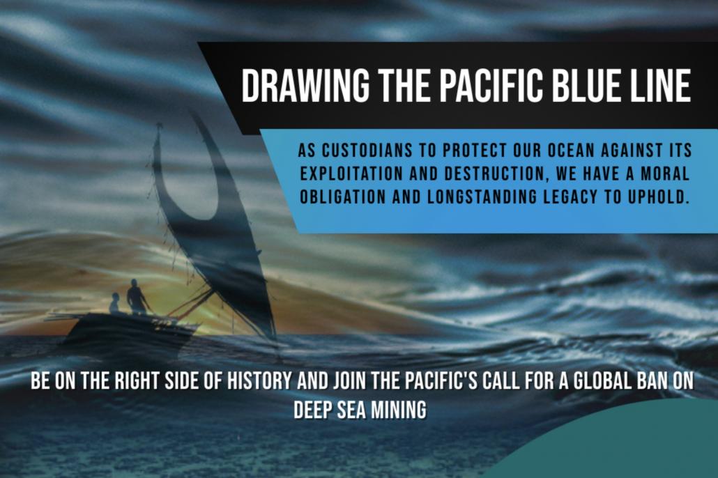 Pacific Blue Line – Eine pazifische Inititiative gegen Tiefseebergbau